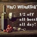Wino Wednesdays - Join us!  Need we say more!