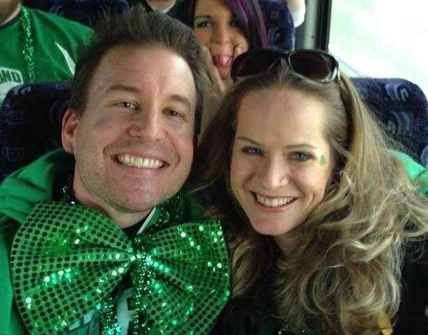 Bus trip to the parade