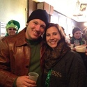 Detroit's St. Patrick's parade 2014 - Nicole and Jesse