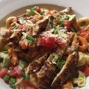 Dante's Inferno - <p>Seared Cajun chicken breast tossed with cheese tortellini, andouille sausage, Cajun cream sauce. </p>